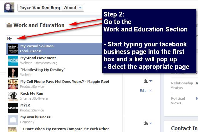 PART I 2014: How To Add the Correct Facebook Business Page ...