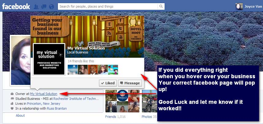 PART I 2014: How To Add the Correct Facebook Business Page